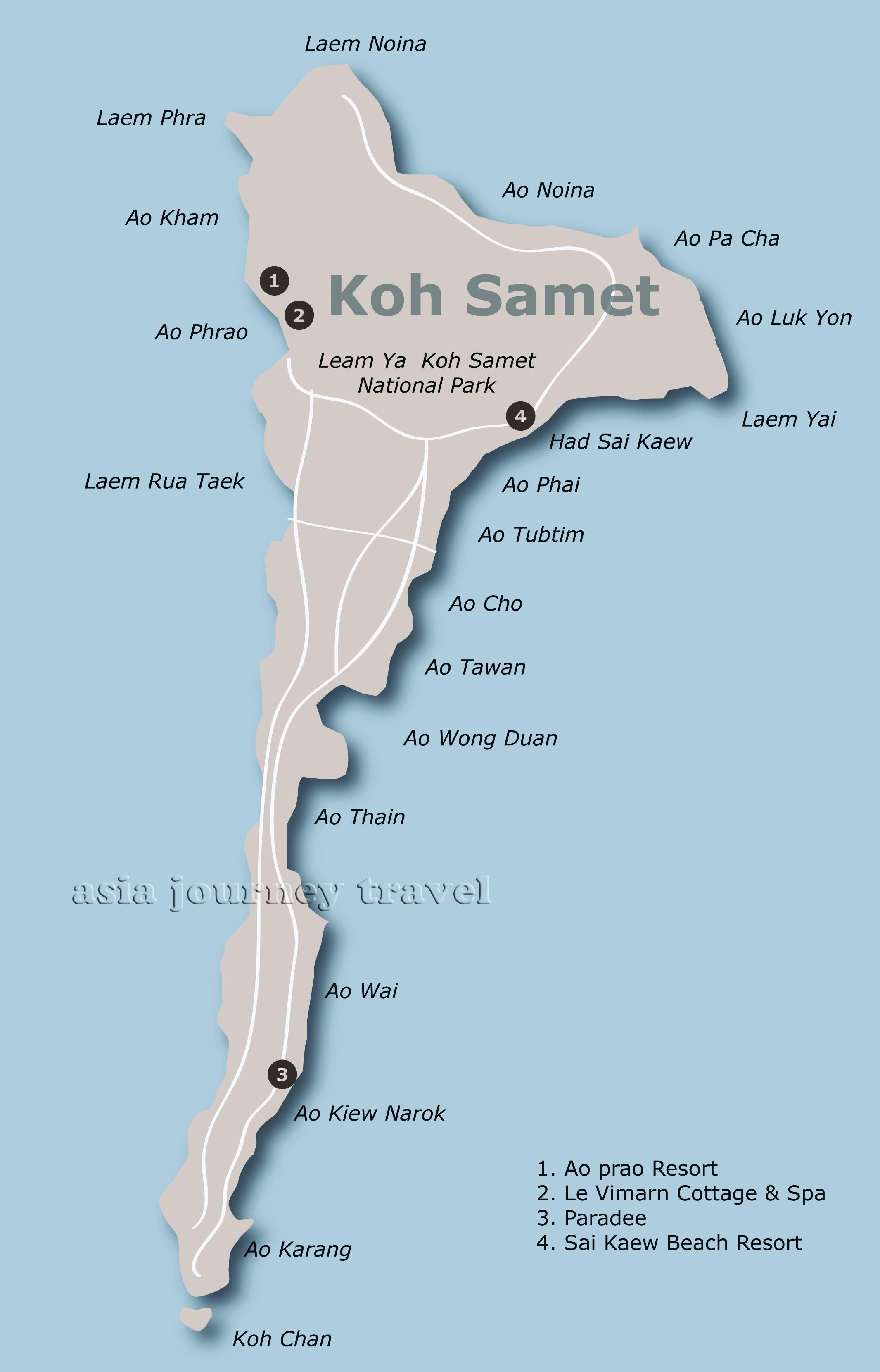 Rayong Koh Samet Asia Journey