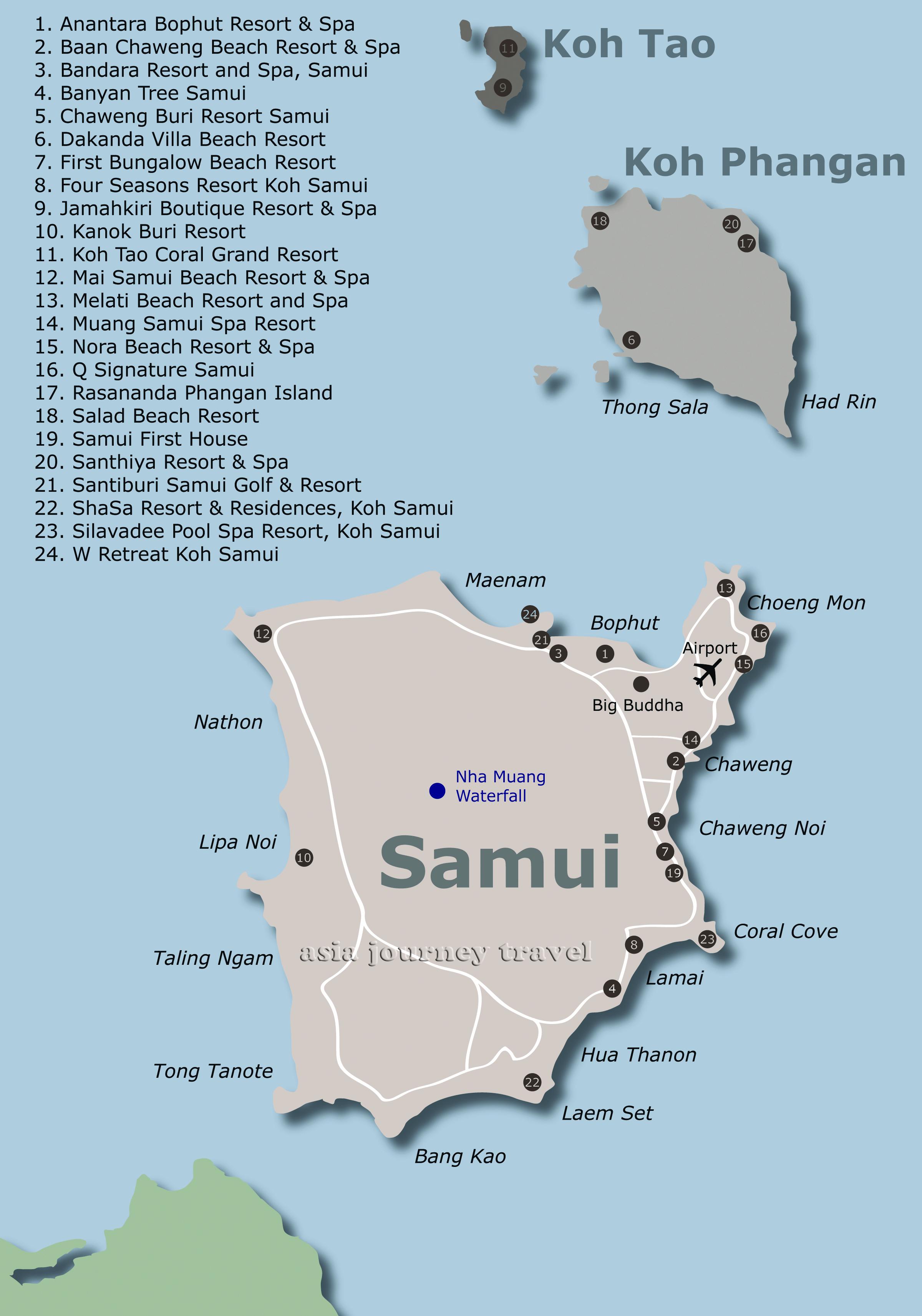 Koh Samui Asia Journey